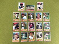 1976 TOPPS BASEBALL BOSTON RED SOX COMPLETE TEAM SET 26 CARDS EXMT/NM YAZ, RICE