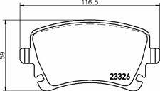 2332603 TEXTAR Auto Bremsbeläge Hinten