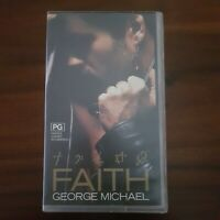 FAITH  1987 - GEORGE MICHAEL VHS - IN VERY GOOD CONDITION