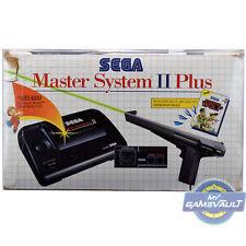 5 protectores de la caja para Sega Master System II 2 Plus Consola De Juegos 0.5 M estuche de plástico