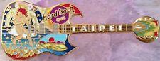 "Hard Rock Cafe TAIPEI 2000 ERIC CLAPTON ""ANGEL"" GUITAR PIN Colorful - HRC #9569"