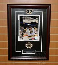 Patrice Bergeron Boston Bruins Signed Autographed 2011 Stanley Cup 8x10 Framed