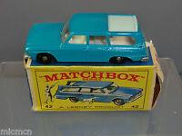 MATCHBOX  LESNEY MODEL No.42b STUDEBAKER LARK WAGONAIRE    VN MIB