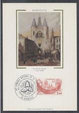 FRANCE FDC - 2316 5 BORDEAUX - 9 Juin 1984 - LUXE sur soie