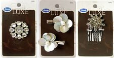 3 x GOODY - LUXE RANGE - HAIR CLASP/CLIPS/COMB **** Brand New ****