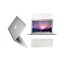 """3 in 1  Crystal CLEAR Case for Macbook PRO 13"""" + Keyboard Cover + LCD Screen"""