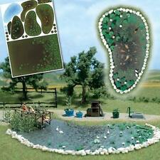 Busch Garden Pond Set 1210  HO& OO Scale