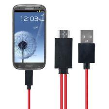Ablegrid MHL Micro USB HDMI AV TV Adapter Cable For Samsung Galaxy Tab 4 SM-T231