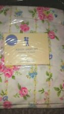 NEW Pottery Barn Kids Ashley FLORAL Queen SHEETS pink