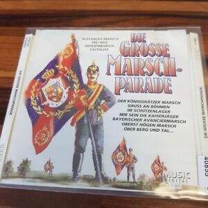 VARIOUS: Die Große Marsch-Parade    > VG (CD)