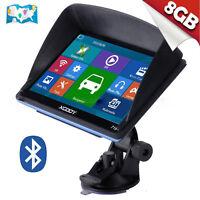 "XGODY 7"" Inch Car GPS Navigation SAT NAV 8GB Bluetooth Navigator with Sunshade"