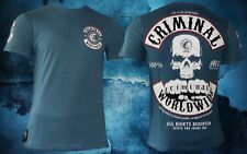 Mafia & Crime Shirt 182 Criminal Worldwide navy blau Herren Gr. 3XL