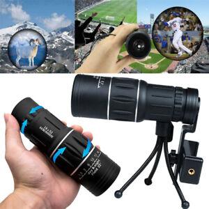 16x52 HD Monocular Telescope Phone Camera Zoom Landscape Watching Night Vision
