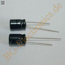 x6 fbc4c10 Condensador electrolítico radial en miniatura de 220UF 25V