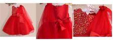 Abbigliamento e accessori rosso per bambine damigelle