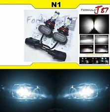 LED KIT N1 50W 9007 HB5 6000K WHITE HEAD LIGHT DUAL BEAM LAMP REPLACEMENT FIT