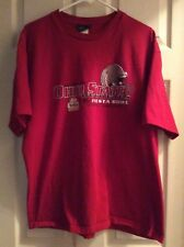 Ohio State Buckeyes 2004 Fiesta Bowl Champions Red XL T-Shirt FREE SHIPPING (C1)