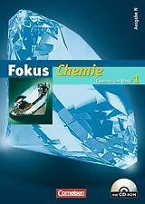 Fokus Chemie - Gymnasium - Ausgabe N: Band 1 - Schülerbu... | Buch | Zustand gut