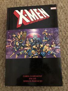 X-Men Omnibus Volume 2 Chris Claremont & Jim Lee 1st Print 2011 Hardcover