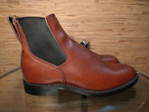 Red Wing 9078 Mil-1 Congress Boots Chelsea Featherstone Teak Men's 8 US New