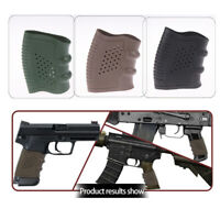 Tactical Rubber Grip Glove Cover Anti Slip Sleeve  Handle Hunting AccessoFB