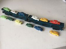 TRIANG HORNBY R666 B.R. CARTIC ARTICULATED CAR CARRIER WITH 12 MINIX CARS