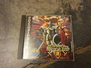 Crossed Swords II - Very Rare Neo Geo CD Game