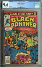 BLACK PANTHER #1 CGC 9.6 WHITE PAGES