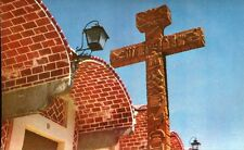 AK/Vintage postcard: MEXIKO: Cruz de Piedra en el Barrio del Artista(~60er/70er)