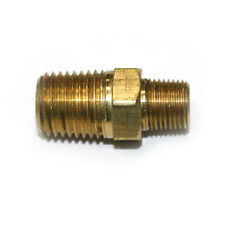 Everflow Supplies NPBR3855 5-1//2 Long Brass Nipple Pipe Fitting with 3//8 Nominal Diameter and NPT Ends