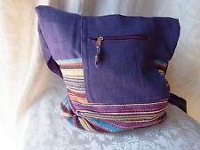 BÄRES Tasche Beutel Patchwork Stickerei Nepal Batik Umhängebeutel (B40)