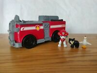 PAW Patrol Marshall's Ride 'n' Rescue Transforming 2-in-1 Playset & Fire Truck