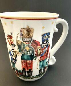 William Sonoma 'Twas the Night Before Christmas Nutcrackers Mug/Cup 16 oz