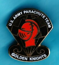 U. S Army Parachute Team Golden Knights Pin Badge. Lapel Or Hat Pin. Exc. Cond.