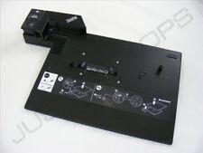 IBM Lenovo ThinkPad T500 W500 Advanced Docking Station Port Replicator NO KEYS