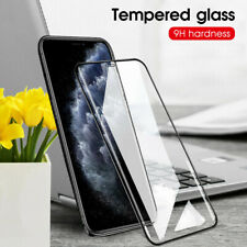 For Apple iPhone 11 Pro Max XR XS Max 9D Tempered Glass Full Screen Protector