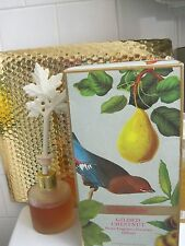 Crabtree & Evelyn GILDED CHESTNUT Home Fragrance Porcelain DIFFUSER NEW in BOX