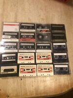 Lot Of 20 Mixed Brands 60 Min Cassette Tapes Sold As Blanks TDK Fuji Realistic