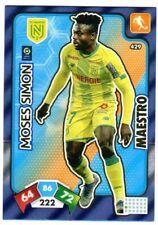 PANINI Adrenalyn XL 2020-2021 Ligue 1 #429 Moses SIMON FC Nantes Maestro