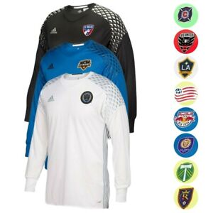 MLS Adidas Men's 2016 Authentic Long Sleeve GoalKeeper Jersey Collection