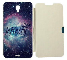 CUSTODIA COVER CASE A LIBRO INFINITO SPACE PER SAMSUNG GALAXY NOTE 3 NEO N7505