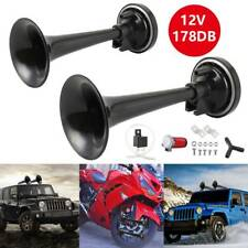 178db Truck Mega Train Single Trumpet Air Horn Kit w DC 12V Compressor New AU