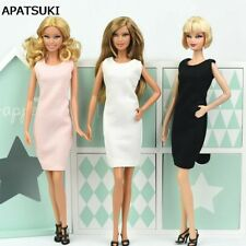 "3pcs/lot Fashion Sundress Vest Dress For 11.5"" Doll Clothes Evening Dresses Toy"