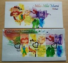 2011 Malaysia Nilai-Nilai Murni Virtues 10v Stamps Original Print FDC (Melaka)