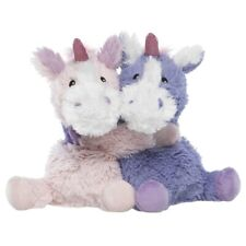 Intelex Warmies Microwavable Plush - Hugs Pink and Purple Unicorns