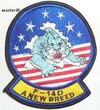US.Navy `F-14D Tomcat `A NEW BREED` Cloth Badge / Patch (F14-33)