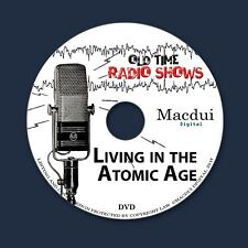 Atomic Age Old Time Radio Shows War 7 OTR MP3 Audio Files on 1 Data DVD