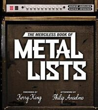 NEW - The Merciless Book of Metal Lists by Abrams, Howie; Jenkins, Sacha