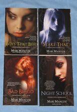 Lot of 4 TPB: BLOOD COVEN VAMPIRE Novels 1,2 4,5  by Mari Mancusi Boys That Bite