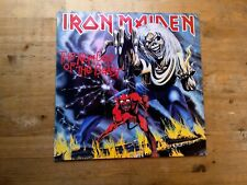 Iron Maiden The Number Of The Beast Excellent Vinyl Record Fame FA 3178
